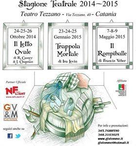 A.C. Pensieri Riflessi: Stagione Teatrale 2014-15