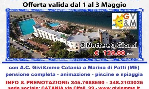 Ponte 1° Maggio 2015 – Marina di Patti (ME)