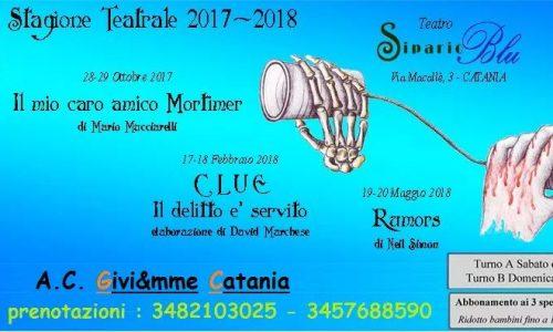 A.C. Pensieri Riflessi – Stagione Teatrale 2017-2018