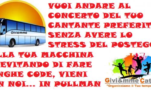 Servizio Transfert – Concerti Live