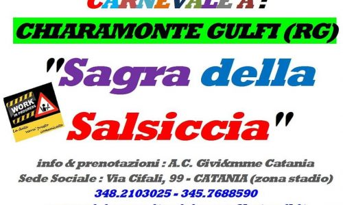 Carnevale di Chiaramonte Gulfi (RG) – 22 Febbraio 2020