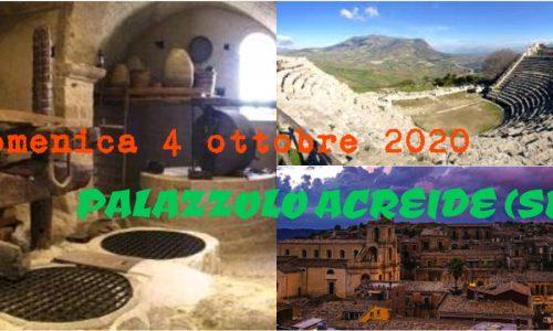 Domenica 4 Ottobre 2020 – Palazzolo Acreide (SR)