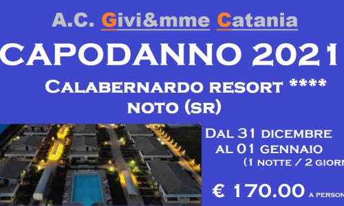 Capodanno 2021 – Calabernardo Resort